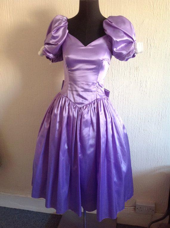 Prom dress 80 s vintage 0ak | Best dress ideas | Pinterest ...