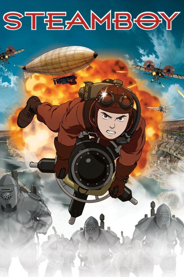 B.) Steamboy (スチームボーイ Suchīmubōi?) is a 2004 Japanese epic
