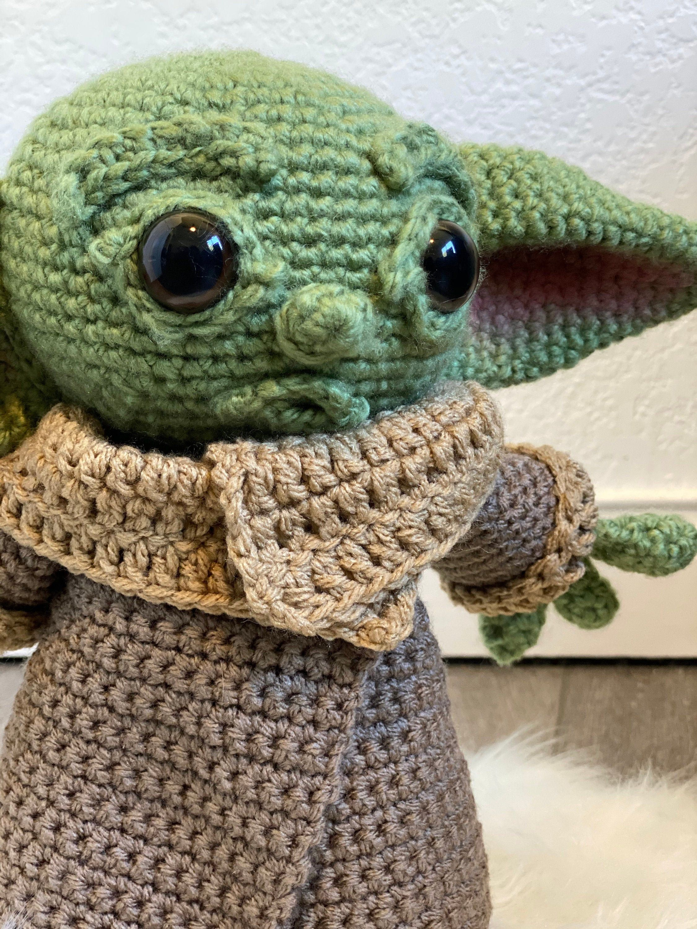 Limited edition handmade baby green alien plush toy