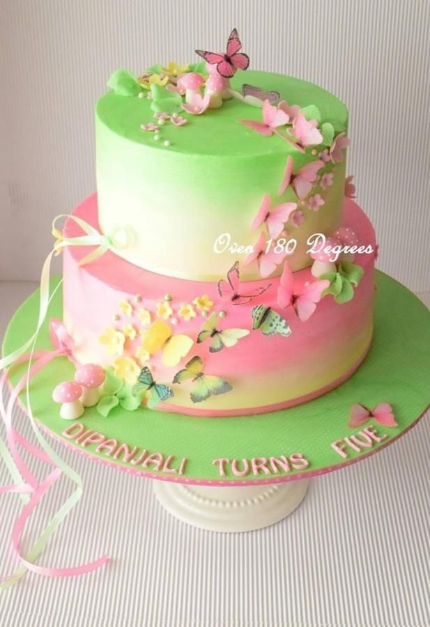 Enchanting Butterflies !!! by Oven 180 Degrees   Cakes & Cake ...