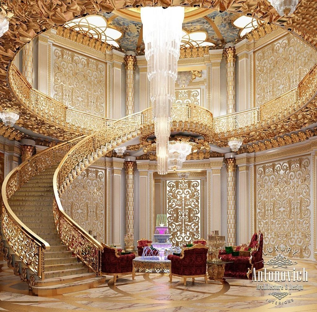 Best 30 Luxurious Grand Staircase Design Ideas For Amazing 400 x 300