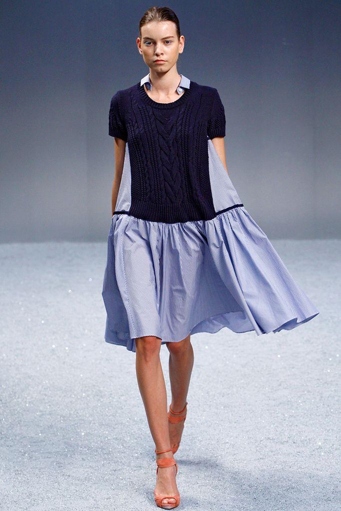 8116e2f7d spring: sacai | style - spring in 2019 | Fashion, Knitwear fashion ...