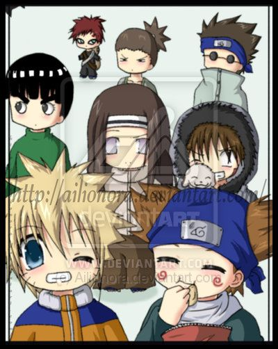 Naruto Boys Naruto Boys Chibi By Ailionora On Deviantart