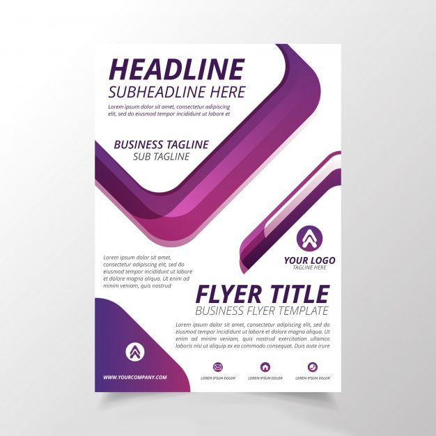 abstract flyer template free vector httpifttt2c9ubvp