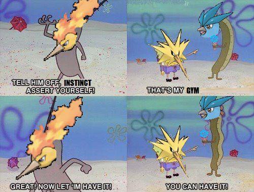 Assert Yourself Plankton