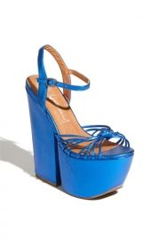 Jeffrey Campbell Jeffrey Campbell 'Sure-Shot' Sandal Blue Metallic ... - $74.90
