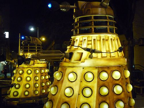 Daleks by the Theatre Royal