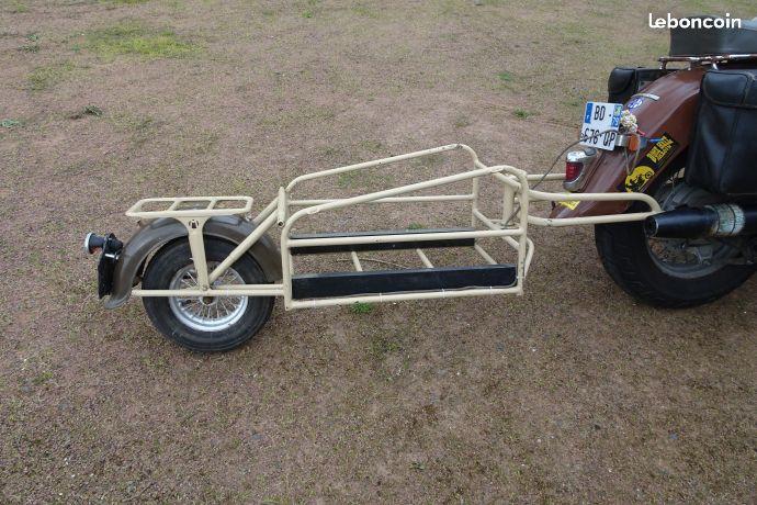 remorque mono roue pour moto ancienne bricolage maison pinterest motos anciennes. Black Bedroom Furniture Sets. Home Design Ideas