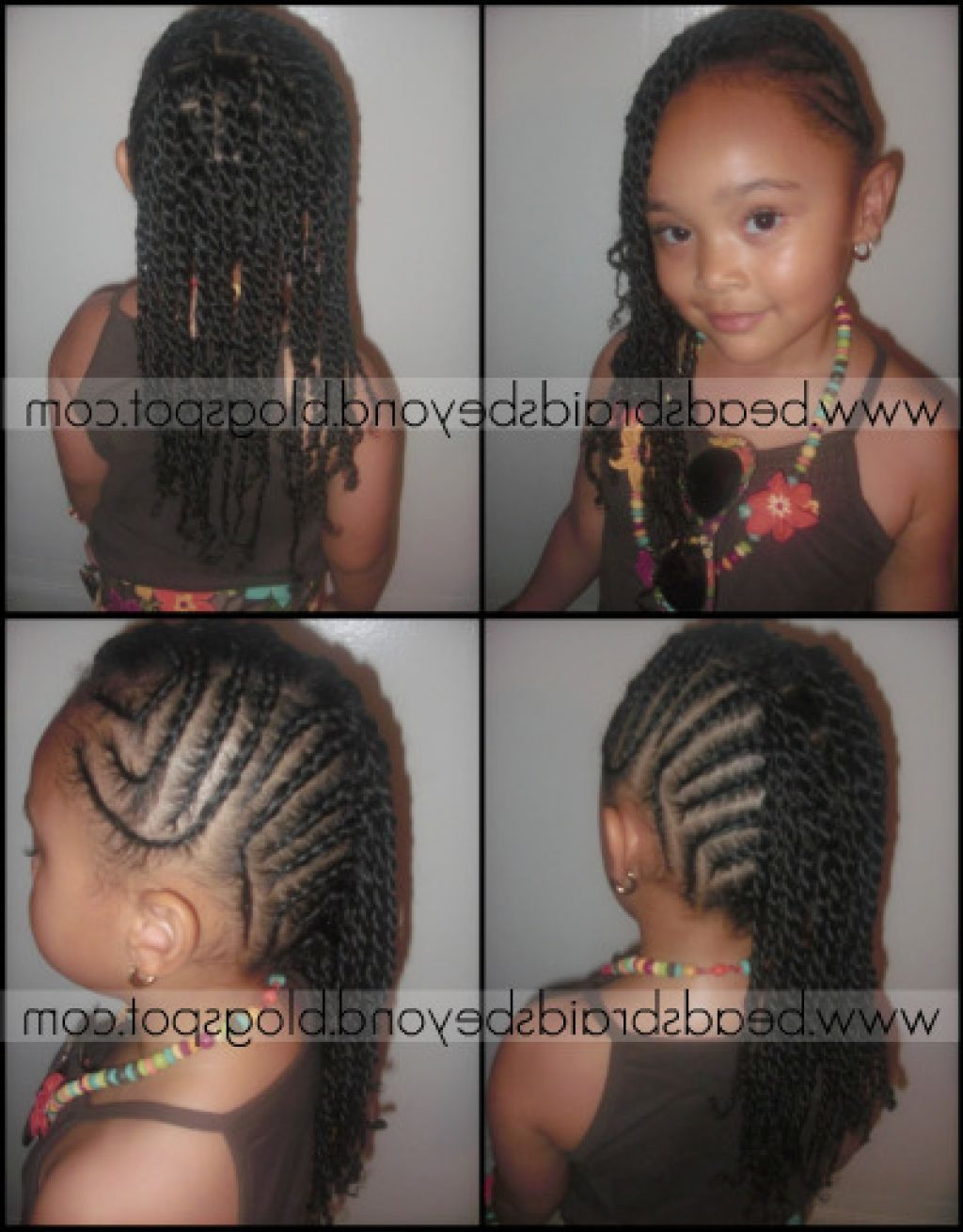 Braided Hairstyles For Lil Girls  Google Search