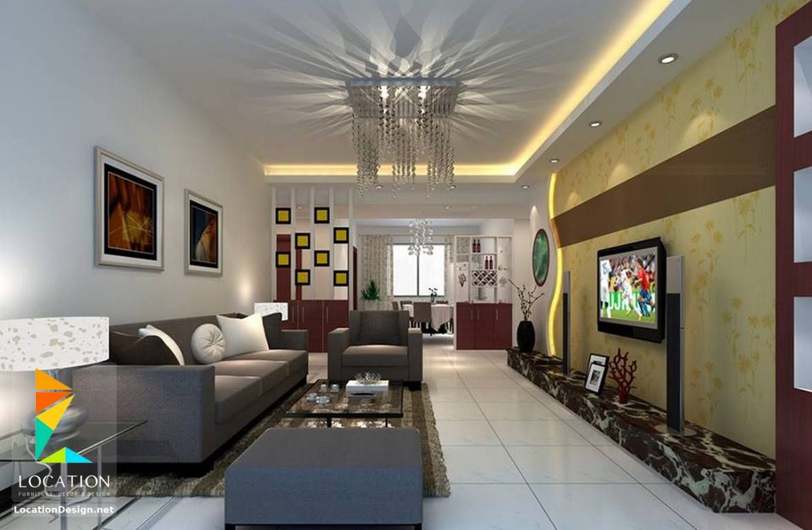 كولكشن صور ديكورات مكتبات و ارفف مودرن لشاشات البلازما 2017 2018 Lounge Room Design Traditional Design Living Room Rustic Living Room Design