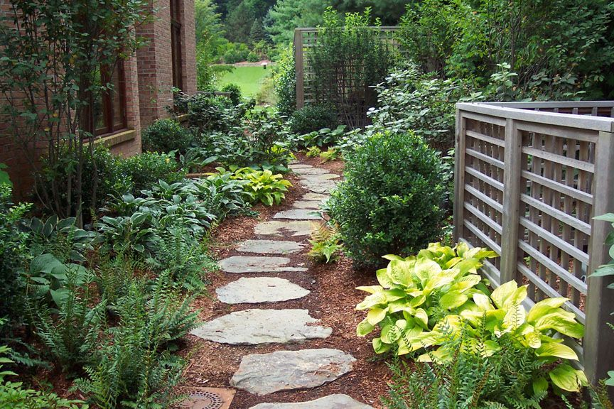 Garden design with ideas for low maintenance garden front for Low maintenance garden
