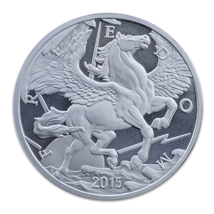 1 Oz Pegasus Silver Round Common Date Silver Bullion Silver Investing Silver Rounds