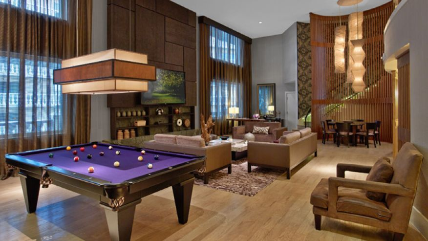 Rendering of the Penthouse Suite at Nobu Hotel within Caesars ...