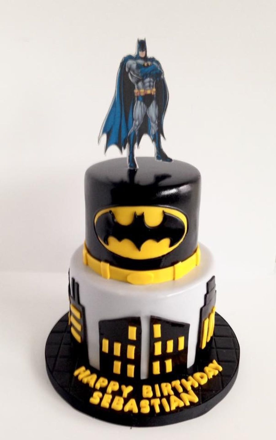 Pleasing Batman With Images Batman Birthday Cakes Batman Cakes Funny Birthday Cards Online Alyptdamsfinfo