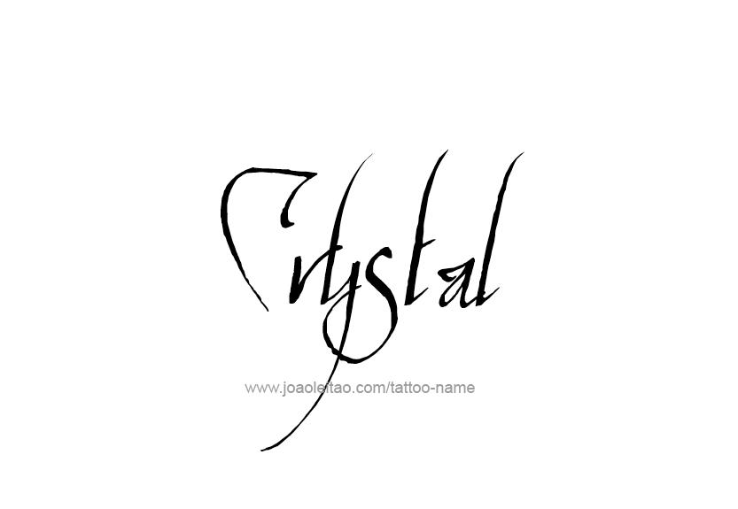 Crystal Name Tattoo Designs Name Tattoos Name Tattoo Designs Tattoo Designs