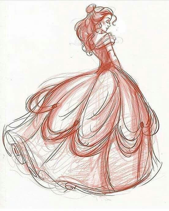 The Beautiful Belle Best Of Disney Art By Dorota Kotarba