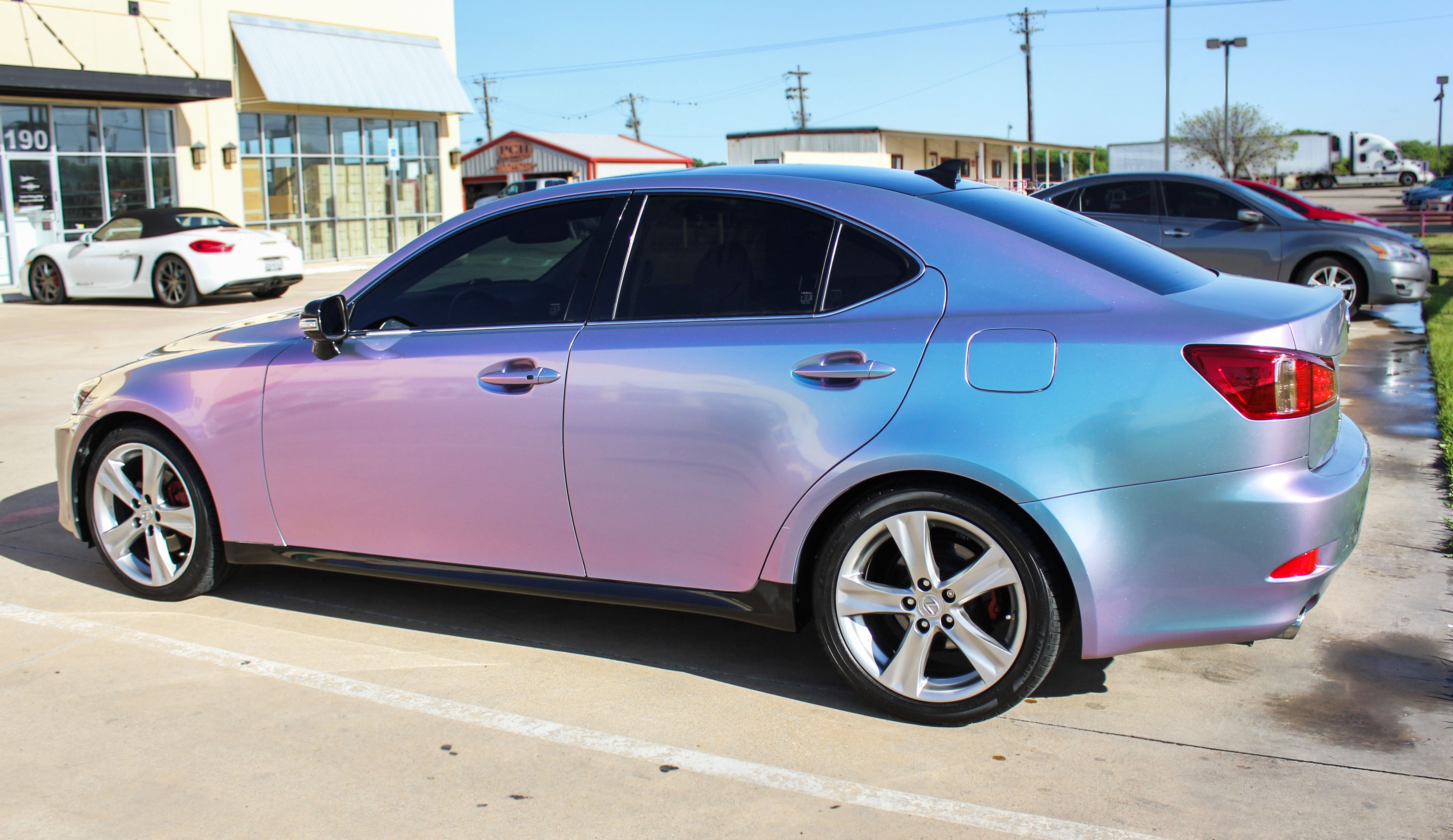 Purple Blue Car Wrap Ideas Metallic Specialty And Chrome Wraps