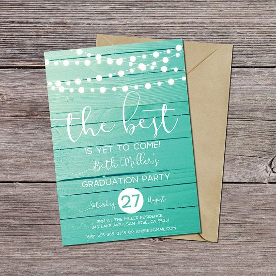 easy design graduation invitations cards simple many supplies