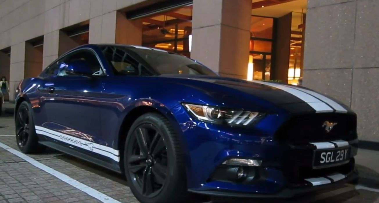 Pin By Nithiwat Maneesint On Mustang Ecoboost Mustang Ecoboost