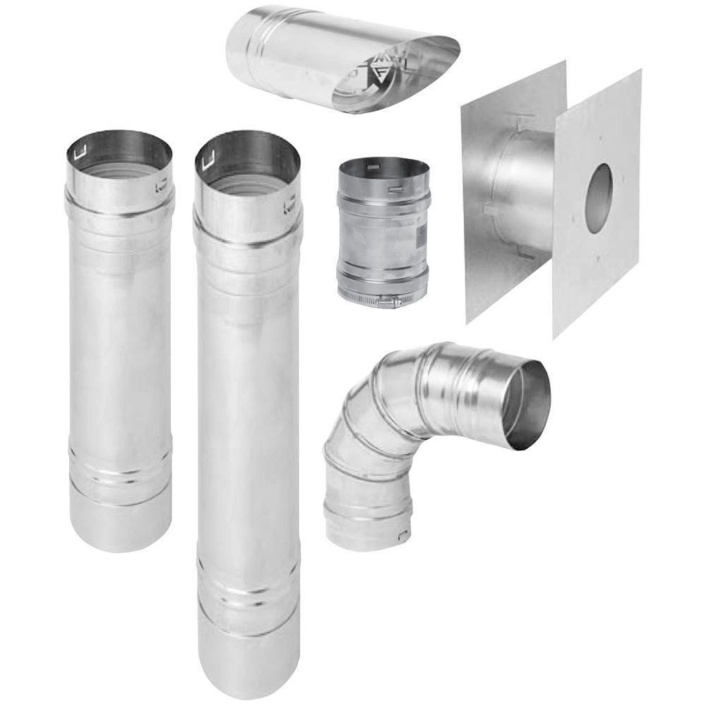 Procom Horizontal Vent Kit For B Vent Garage Heaters Garage Heater Laser Welding Garage