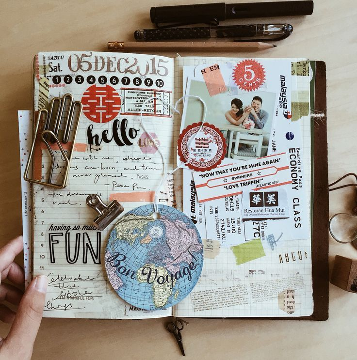 How To Make A Book Journal ~ Journaling is fun follow more my entries at