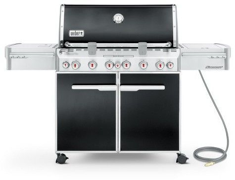 Weber Summit E 670 Natural Gas Grill Best Gas Grills Gas Bbq Grilling