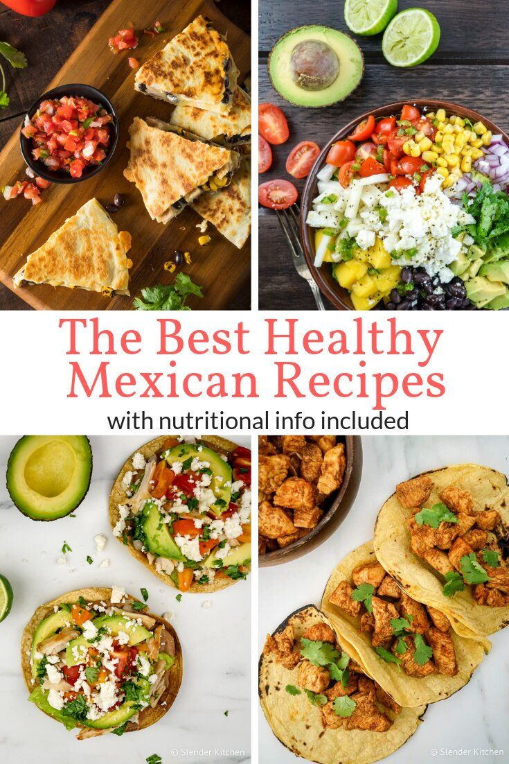 Photo of The Best Healthy Mexican Recipes – Slender Kitchen