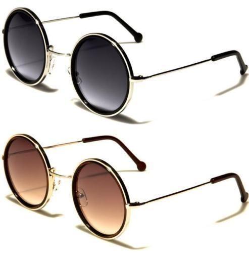 neu schwarz sonnenbrille damen herren gro retro rund steampunk designer style pinterest. Black Bedroom Furniture Sets. Home Design Ideas