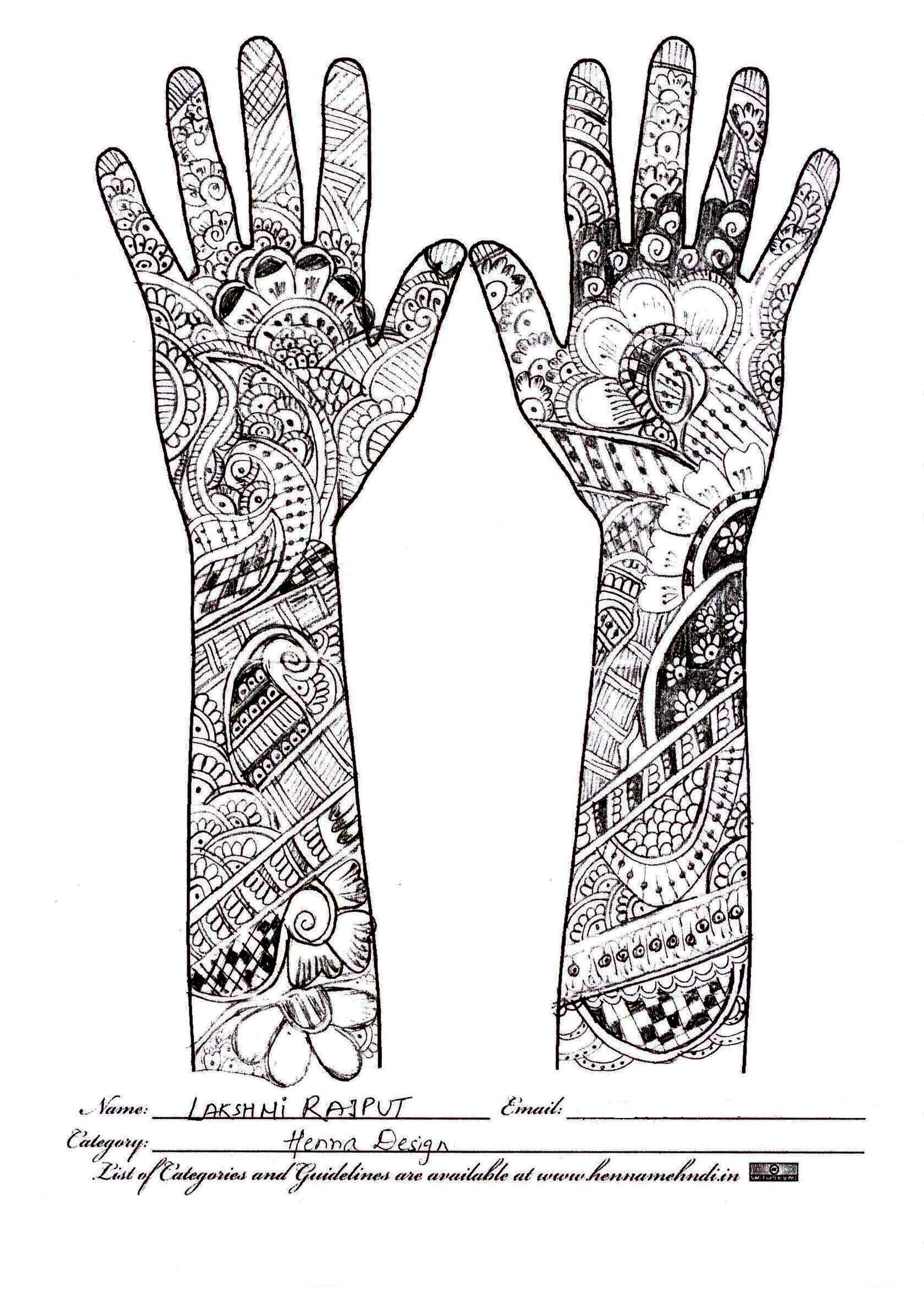 henna design tatto pinterest figuras humanas colorear y mandalas. Black Bedroom Furniture Sets. Home Design Ideas