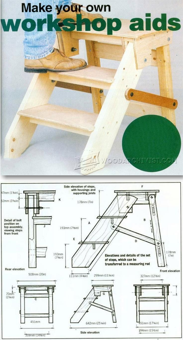 diy step platform - workshop solutions projects, tips and