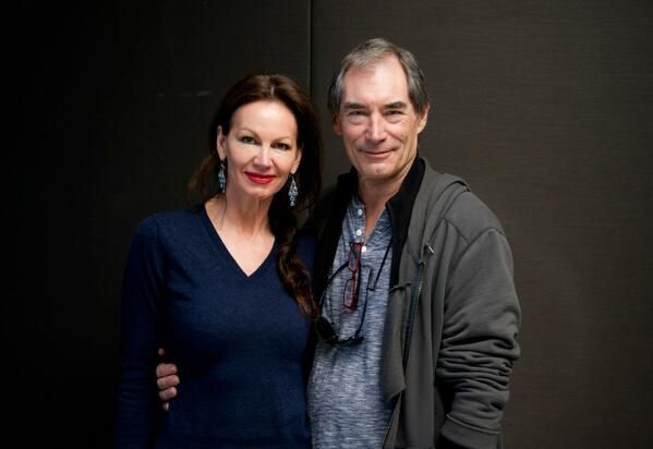 Margaret Gardiner on twitter May 26 2014  #PennyDreadful #TimothyDalton fights the dead But former #007 Had me laughing so hard I had 2 pose twice 4 this.