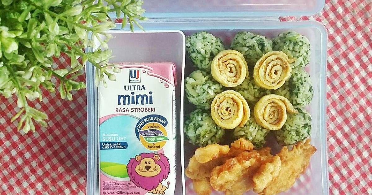 Resep Bola Nasi Bayam Bekal Anak Oleh Bunga A Rosvita Resep Resep Makanan Resep Sarapan