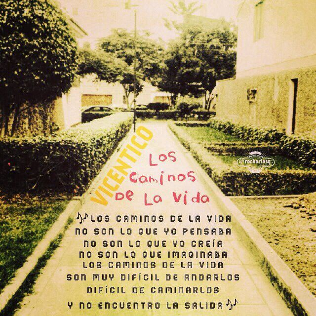 Vicentico Los Caminos De La Vida Music Lyrics Lyric