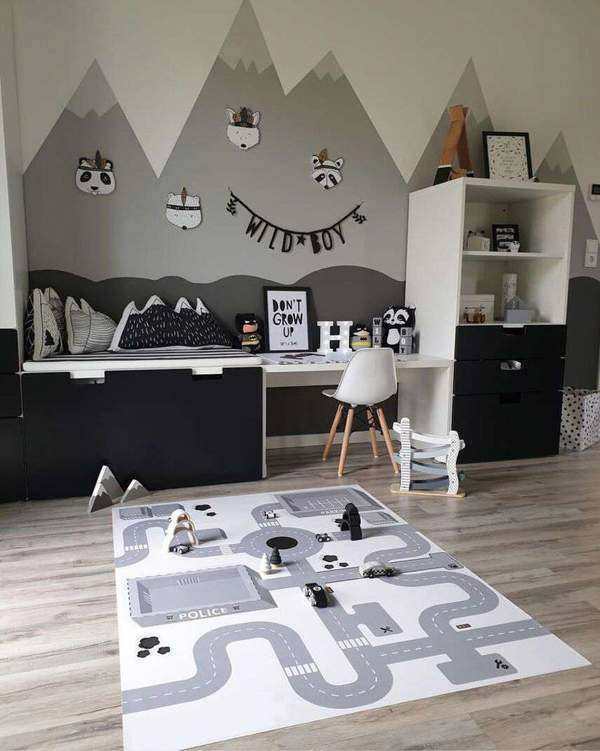 2019 New Road POLICE Print Baby Creeping Carpet Play Mat,  #baby #Carpet #Creeping #kidsrugsplayroomdiy #mat #play #Police #Print #Road #MetalHomeDecor