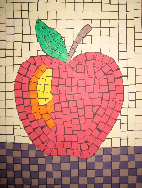 mosaic ideas for kids | Roman Mosaic Art Project | Art Ideas For ...