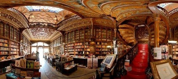 """The cathedral-like Livraria Lello, at 144 Rua das Carmelitas in the Portuguese city of Porto, is so atmospheric tourists reverently lower their voices. Manager Antero Braga explains: """"The bookshop was opened in 1906 and designed to echo the monastic library tradition which preserved Portuguese culture during the Moorish invasion."""""""