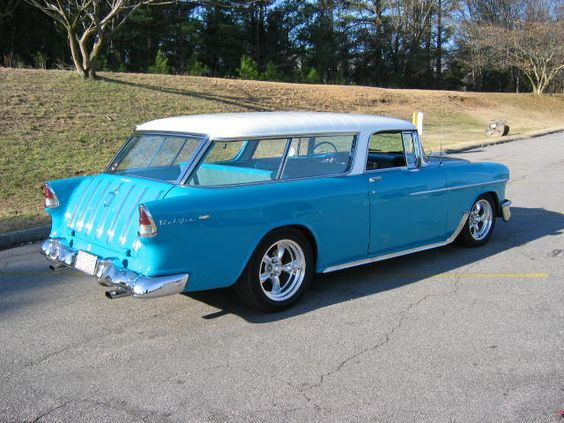 1955 Nomad. Seriously thinking this should be our branded company car.: