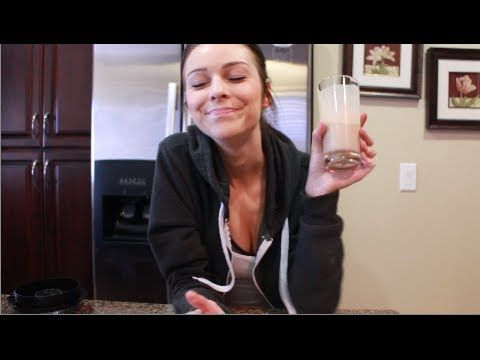 ▶ My Favorite Shake Recipes + New Health/Fitness Series - YouTube PEANUTBUTTER CHOCOLATE