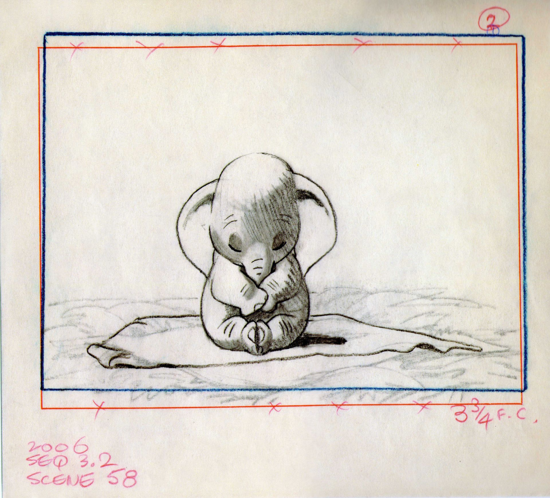 Dumbo The Art Of Disney Avec Images Dessins Disney Art