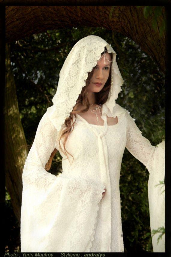 robe de mari e elfique dame blanche 2 elfes pinterest
