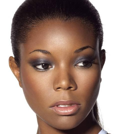 Gabrielle Union - Soft Smoky Eye Makeup For Black/African American Women | Black Beauty ...