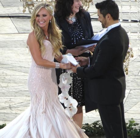 Tamra Barney\'s Wedding Dress | Tamra barney, Real housewives and ...