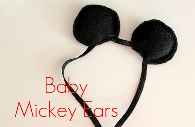 Mickey Mouse Ear Tutorial