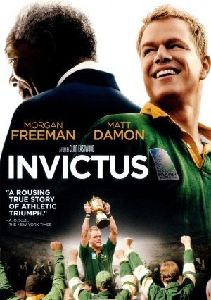 Invictus is a very, very powerful movie and one of my favorites. The sound track is fantastic. Matt Damon, Morgan Freeman and directed by Clint Eastwood