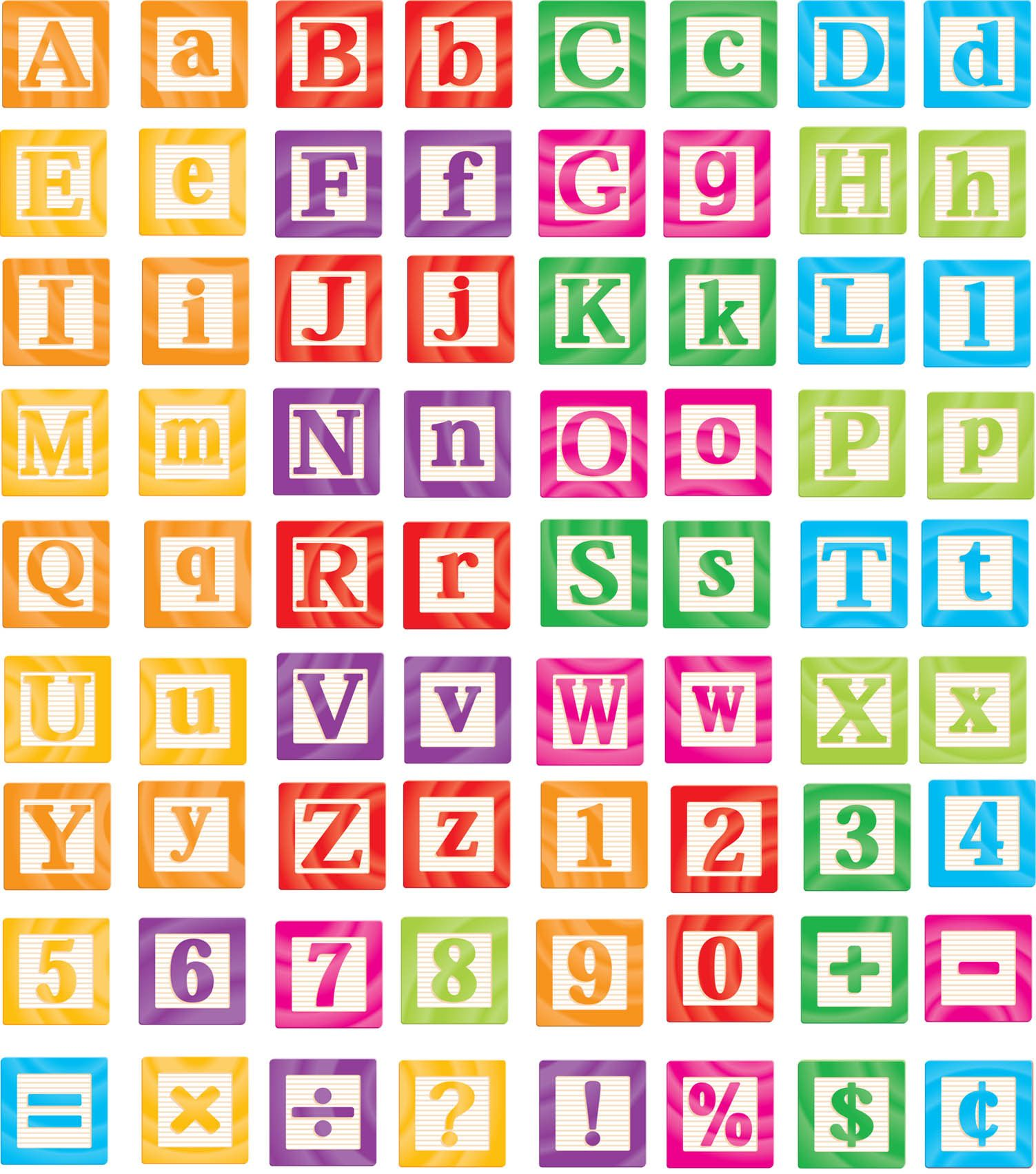 Alphabet Blocks With Images