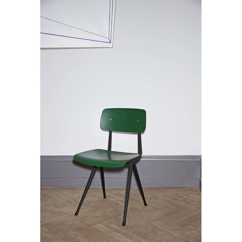 Hay Result Chair Black Forest Green Chair Stylish Chairs Furniture Chair