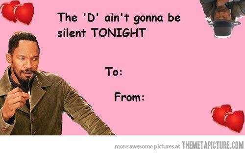 Django Valentine Card – Be My Valentine Funny Cards
