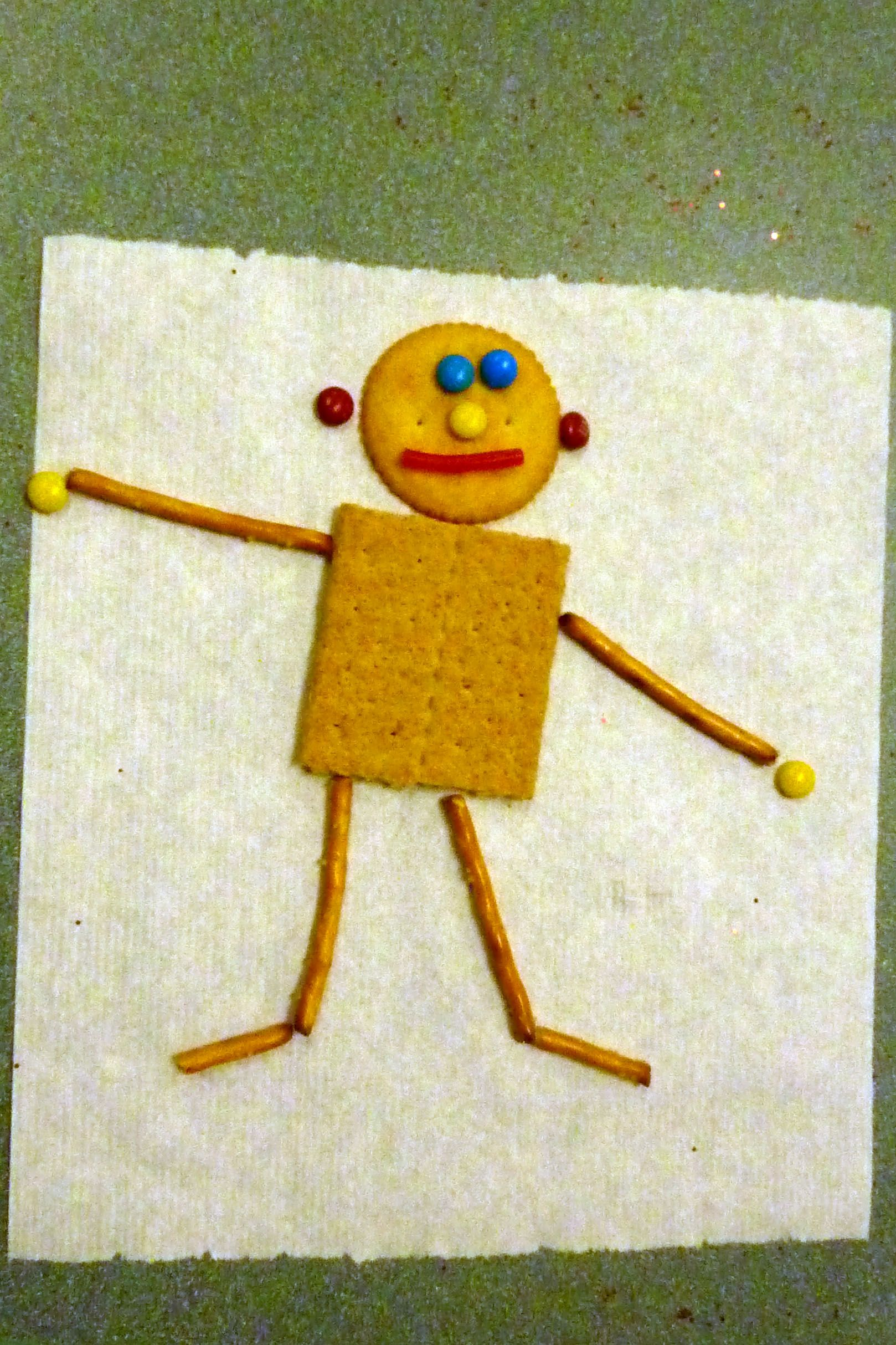 Edible Mat Man