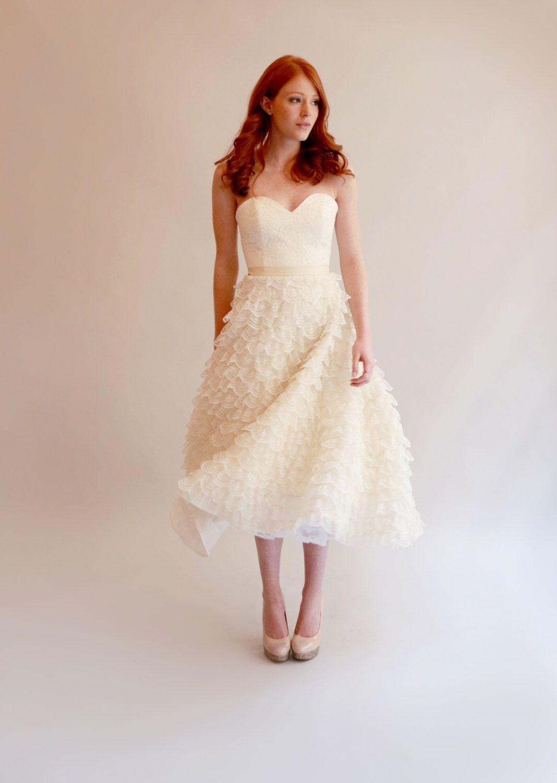 Tealength lace wedding dress drew pinterest dress drawing