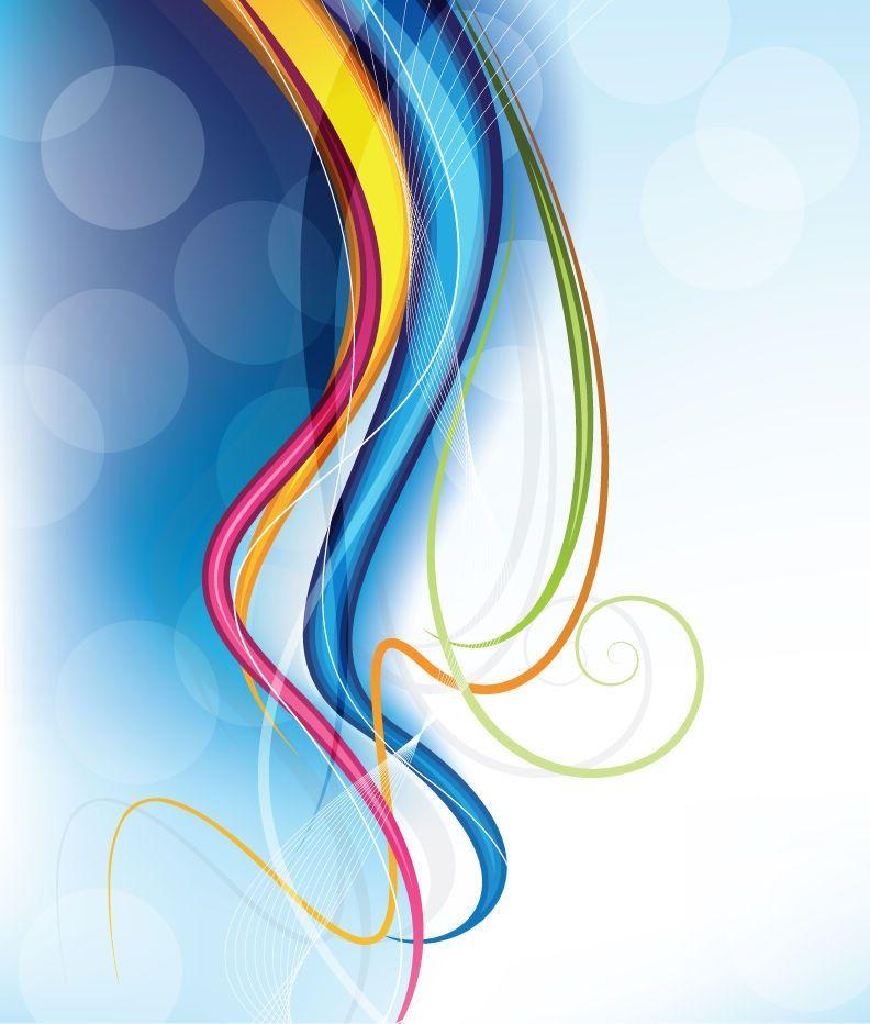 Graphic Line Design Art : Modern art design abstract background vector